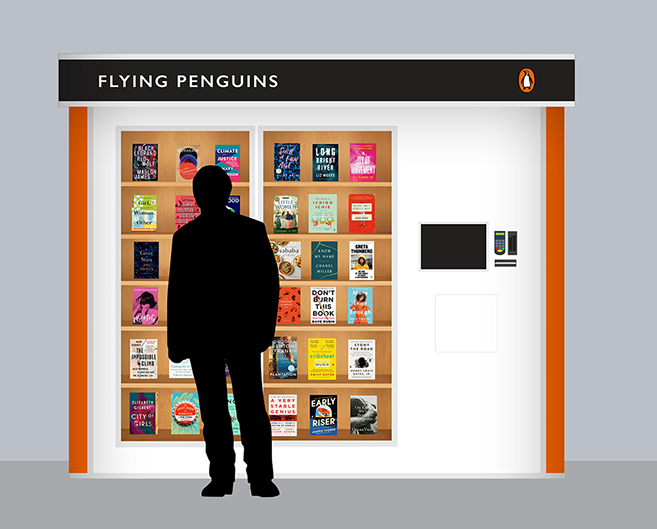 A Flying Penguins machine